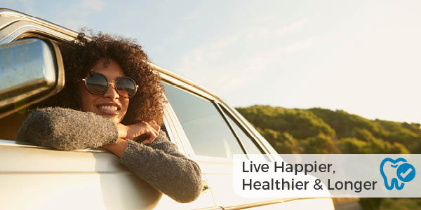 Live happier, healthier, and longer